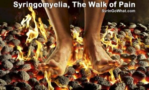 Syringomyelia, The Walk of Pain - SyrinGoWhat.com